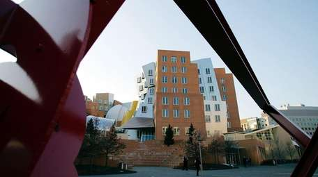 The Ray and Maria Stata Center is on