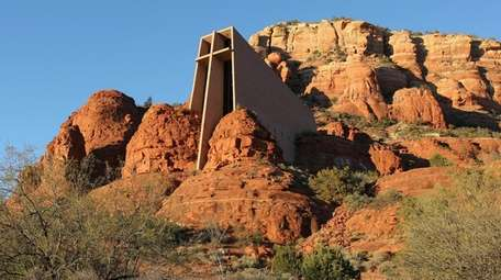 Chapel of the Holy Cross is set in