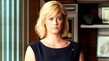 Abigail Hawk, of CBS'