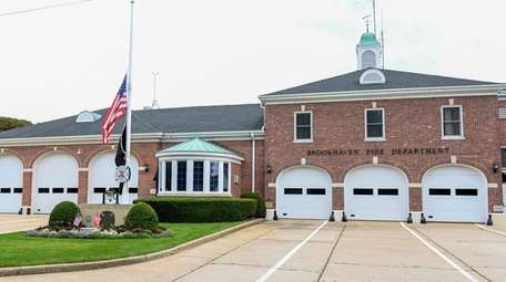 Brookhaven Fire Department officials apologized for carrying a