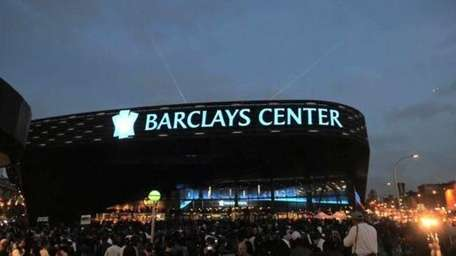 The new Barclays Center opened with a sold-out