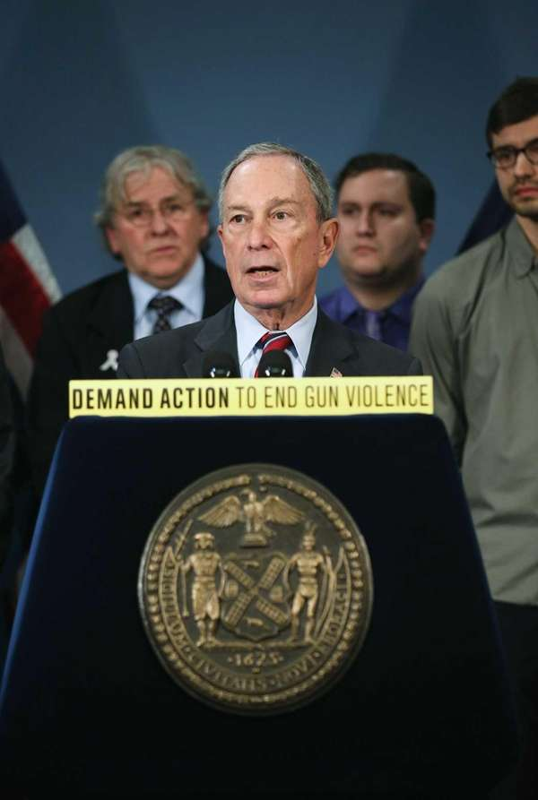 New York City Mayor Michael Bloomberg speaks out