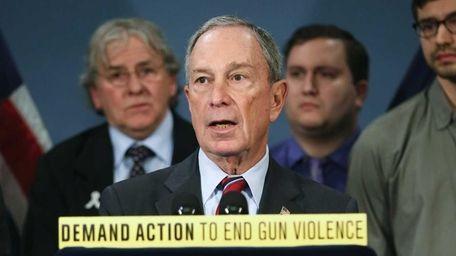 New York City Mayor Michael Bloomberg speaks out