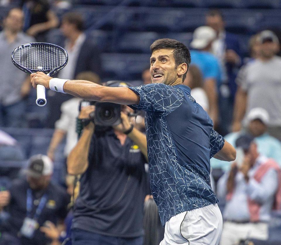 Grand Slams: 17 Overall titles: 80 Novak Djokovic