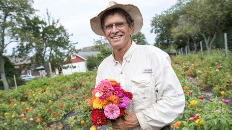 Ira Haspel, principal farmer and owner of KK's