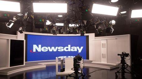 Newsday studio photographed September 1, 2020.
