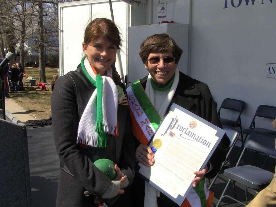 Hampton Bays St. Patrick's Day Parade Grand Marshal