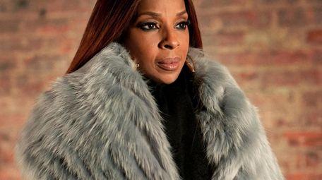 """Monet Tejada (Mary J. Blige) in , """"Power"""