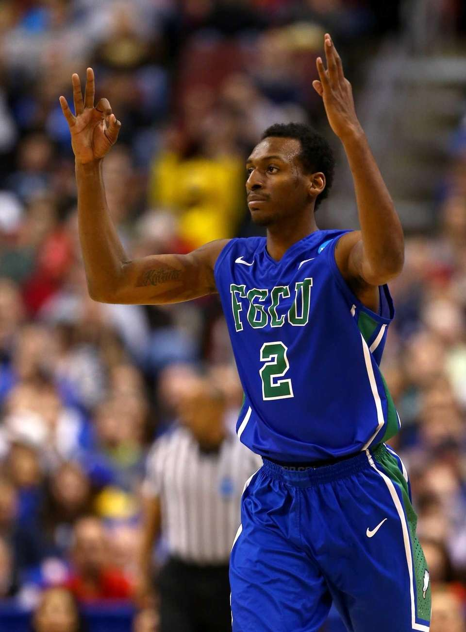 2013: NO. 15 FLORIDA GULF COAST Will play