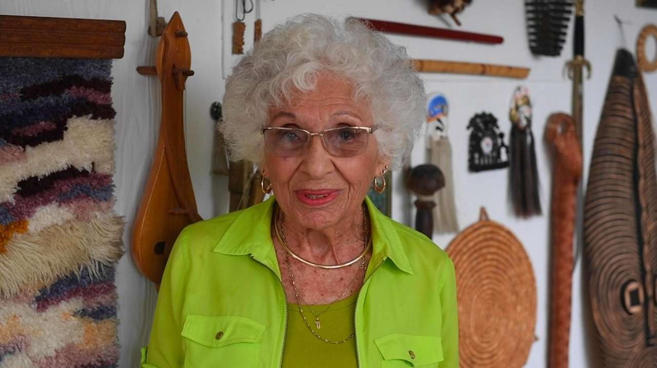 Addy Kalsmith, Meadowbrook Women's Initiative oldest member, was