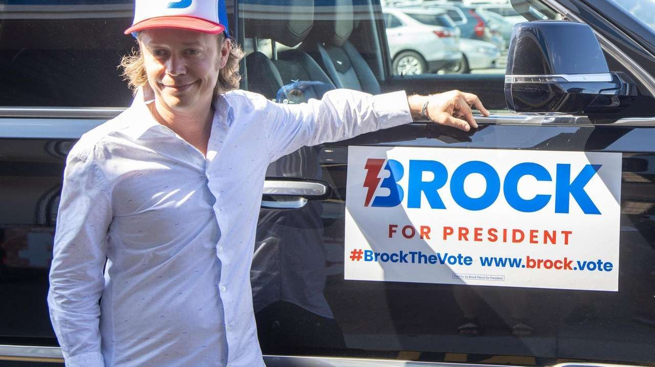 The New York Independence Party officially endorsed Brock