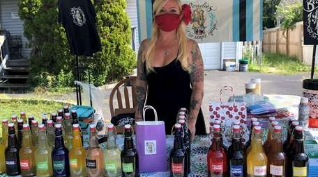 Christine Eifert started Blondie's Not So Simple Syrups