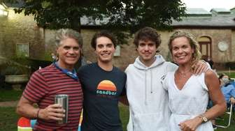 The Mack Family -- Bill, James, Will and
