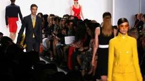 Michael Kors shows his 2013 Spring collection at