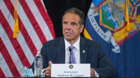 Gov. Andrew M. Cuomo, pictured last month, said