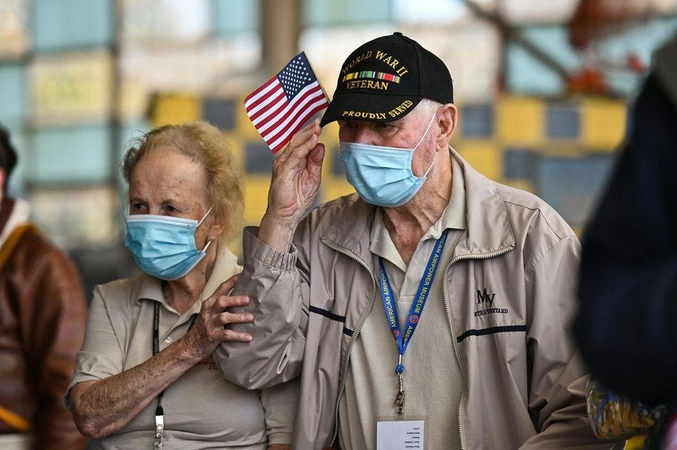 World War II Army veteran Bob Edelson, who