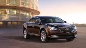 General Motors unveiled the 2014 Buick LaCrosse days