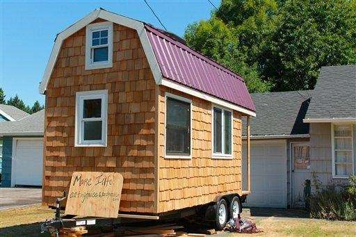 "A ""tiny"" house built in Portland, Ore. New"