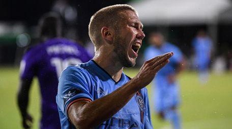 Anton Tinnerholm #3 of New York City FC