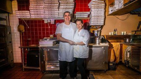Aldo and Dana Gervasi, owners of Sal's Famous
