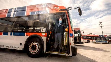 David Nehrebecki, a NIC bus driver, is what