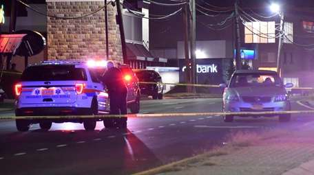Nassau County police investigate after a pedestrian is