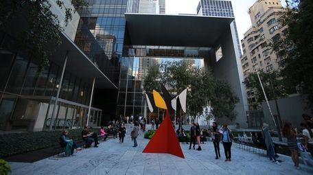 The Museum of Modern Art, aka MoMA, came