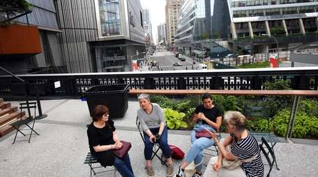 The Spur, the last High Line rail structure