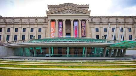 The Brooklyn Museum in the borough of Brooklyn