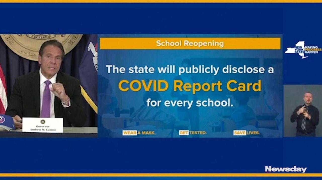 Gov. Andrew M. Cuomo announced the state will
