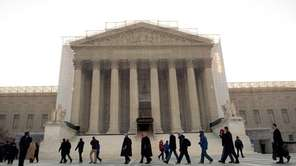 The U.S. Supreme Court heard arguments this week