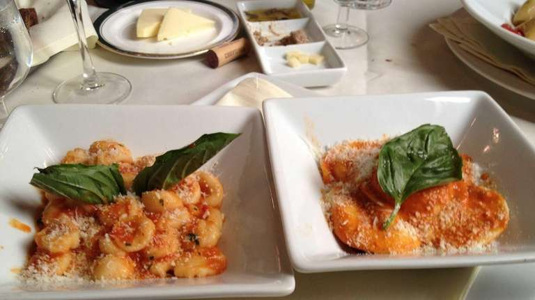 Winning pastas at Glen Cove's La Pace with