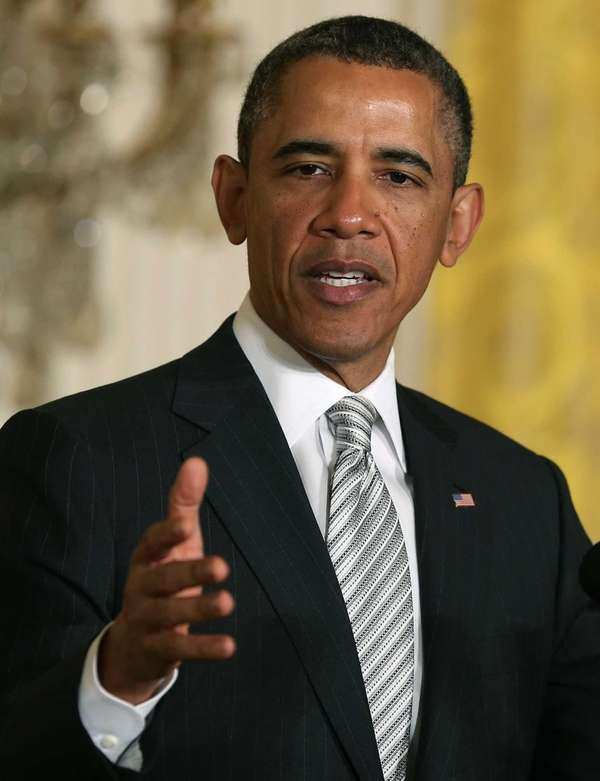 U.S. President Barack Obama speaks during a naturalization