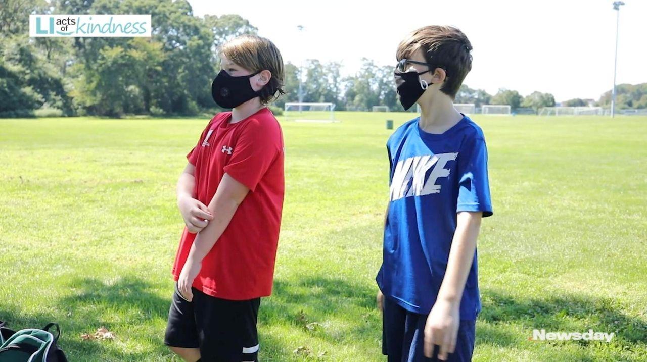 Sean Camberdella is an 11-year-old Lindenhurst boy with