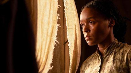"Janelle Monáe as Veronica/Eden in Lionsgate's ""Antebellum."""