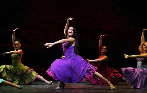 Karen Olivo in one of Joey McKneely's choreographic