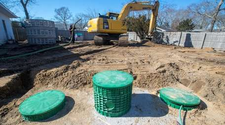An advanced septic system that removes nitrogen from