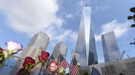At Ground Zero — the official ceremony since