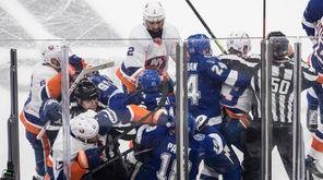Tampa Bay Lightning and the New York Islanders