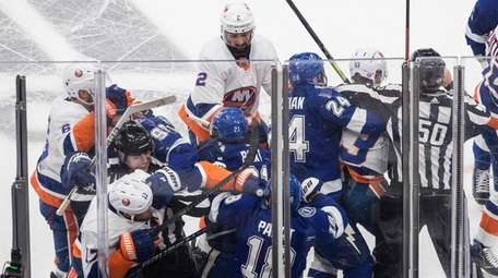 Tampa Bay Lightning and the New York Islanders