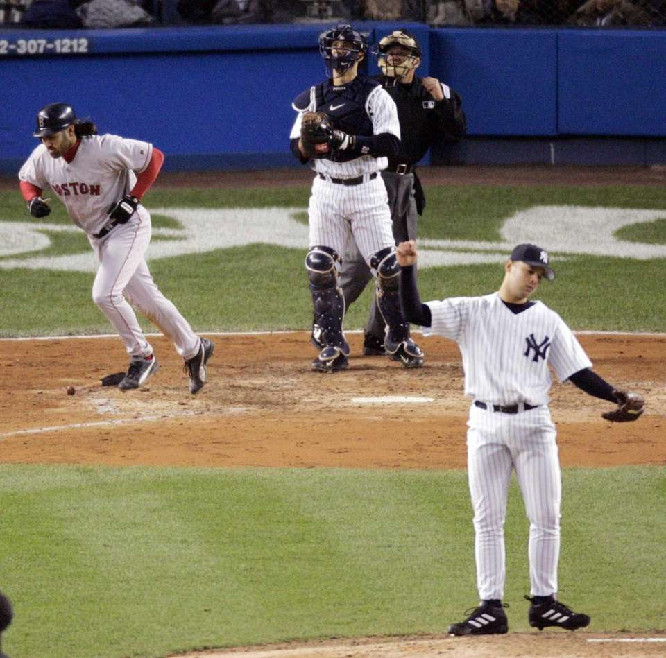 21. JOHNNY DAMON SLAMS THE DOOR -- Oct.