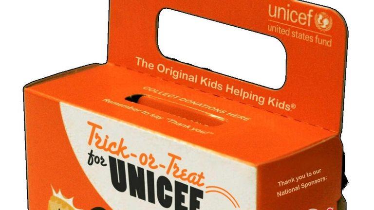 UNICEF's bright orange
