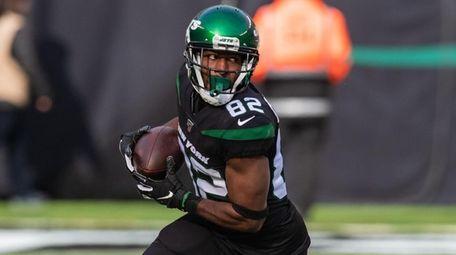 New York Jets wide receiver Jamison Crowder against