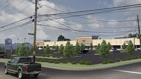 An artist's rendering: Northwell Health plans to move