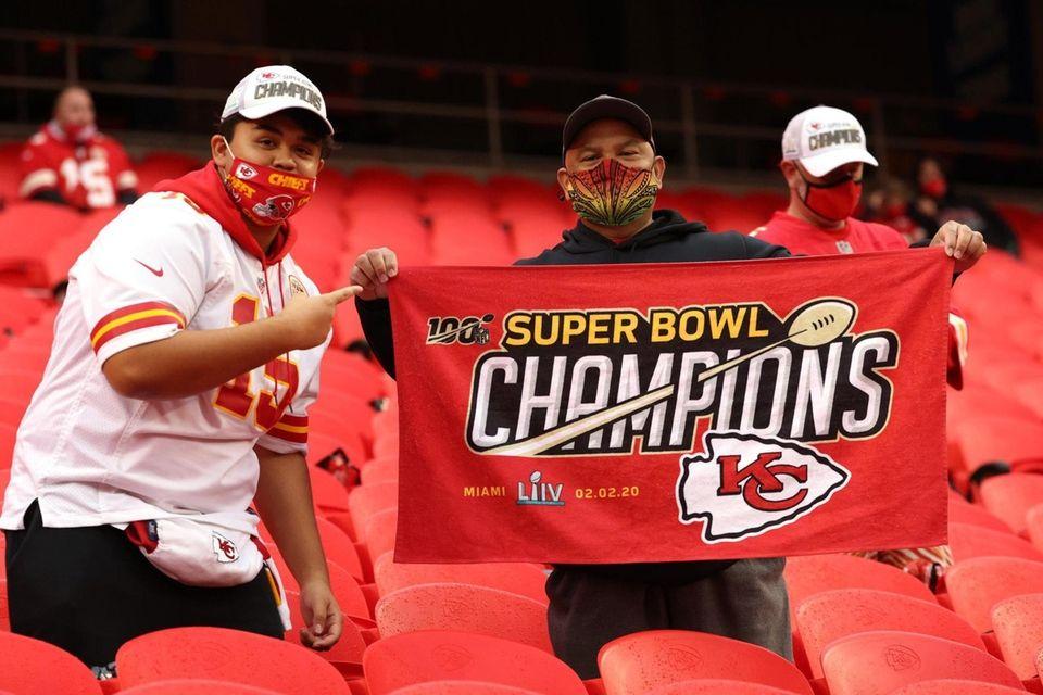 Kansas City Chiefs fans show their championship pride