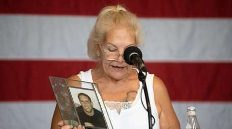 Susan Hutchins, on Thursday at an Eisenhower Park