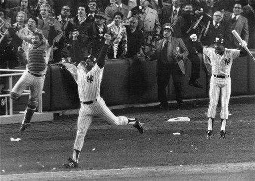 6. CHRIS CHAMBLISS' WALKOFF - Oct. 14, 1976