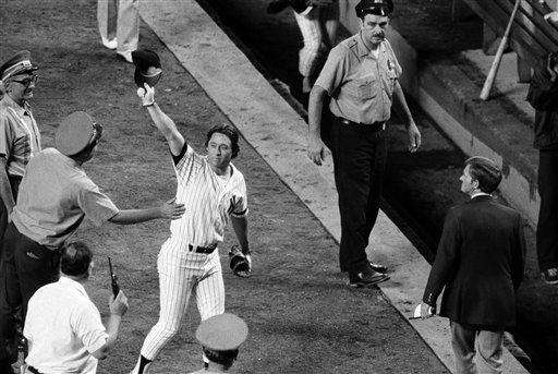11. BOBBY MURCER'S HR AFTER THURMAN MUNSON --