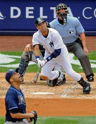 13. DEREK JETER'S 3,000TH HIT -- July 9,