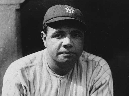 18. BABE RUTH CHRISTENS THE